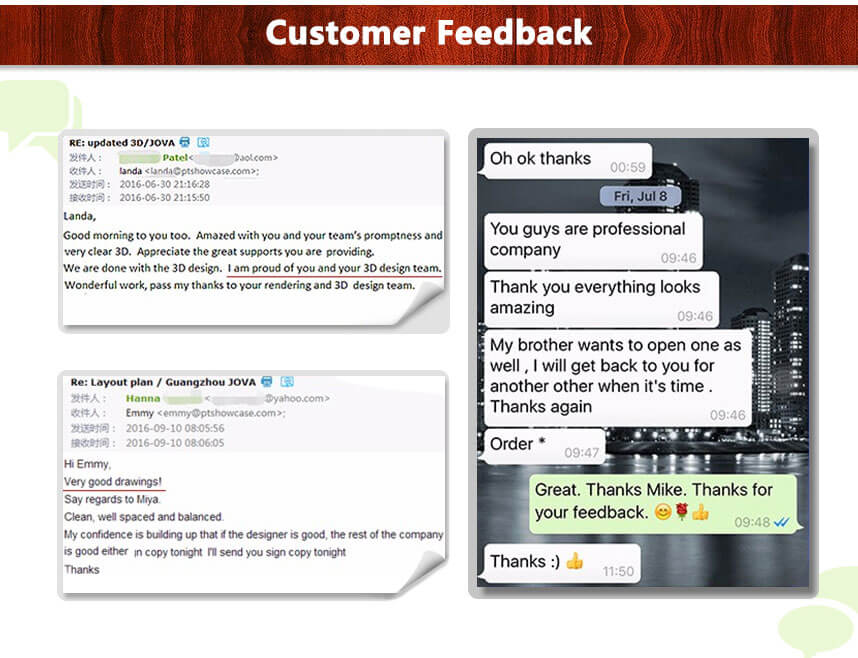 clothing display racks customer feedback