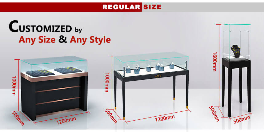 jewelry display cabinet design
