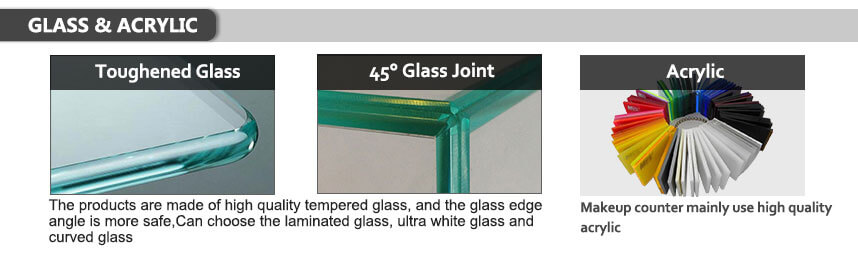 shop furniture material glass