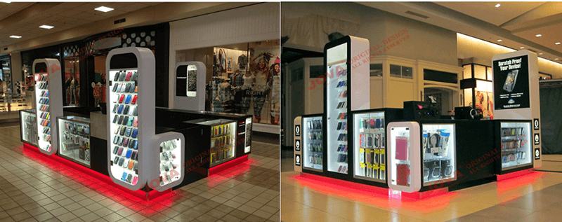 mall cell phone accessories kiosk