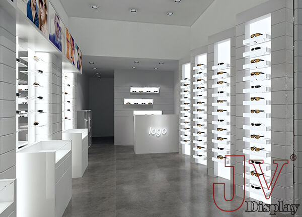 optical store interior design