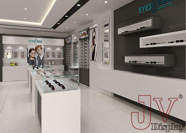optical showroom design canada