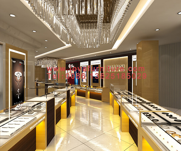 VALLIANI jewelry shop design