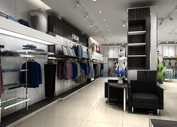 mens clothing store design