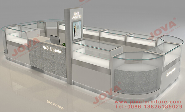 shopping mall kiosk design