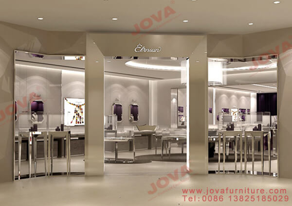 retail jewelry counter displays