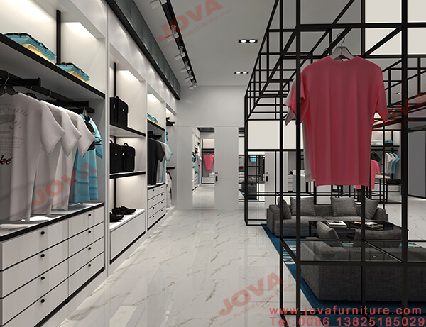clothes shop fixtures