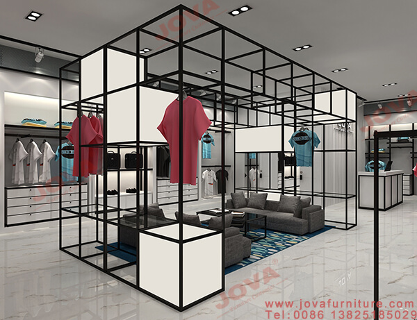 clothes shop decoration design