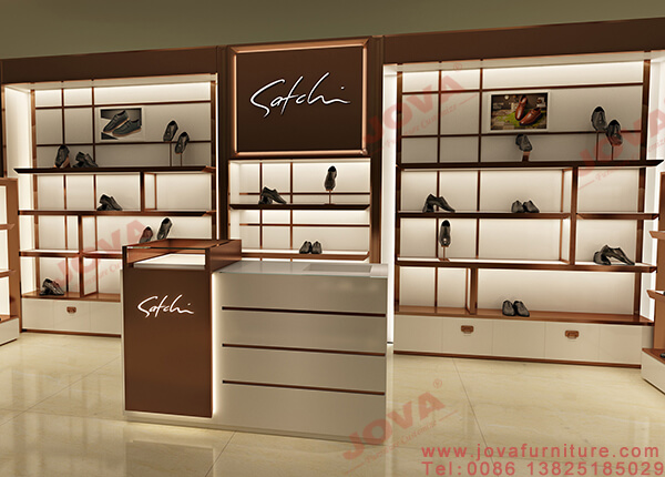 footwear shop display
