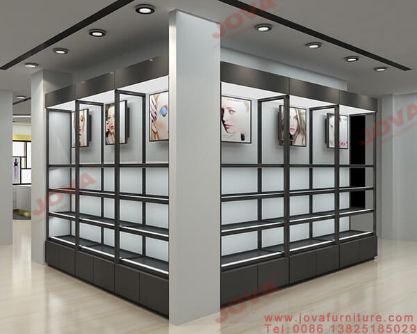 makeup retail display cabinets
