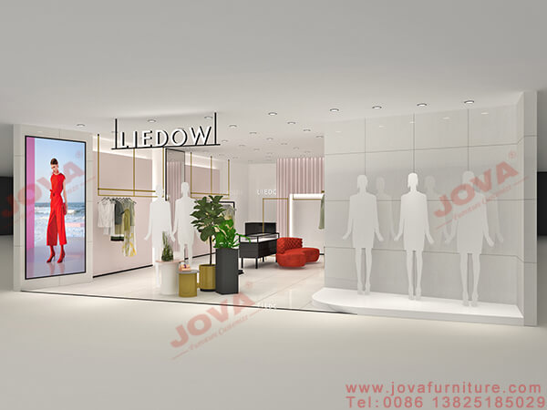 garments shop front design