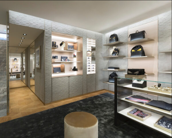 fashion shop decoration design