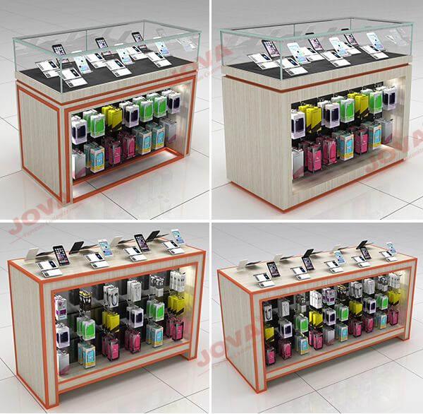 glass mobile phone counter wholesale