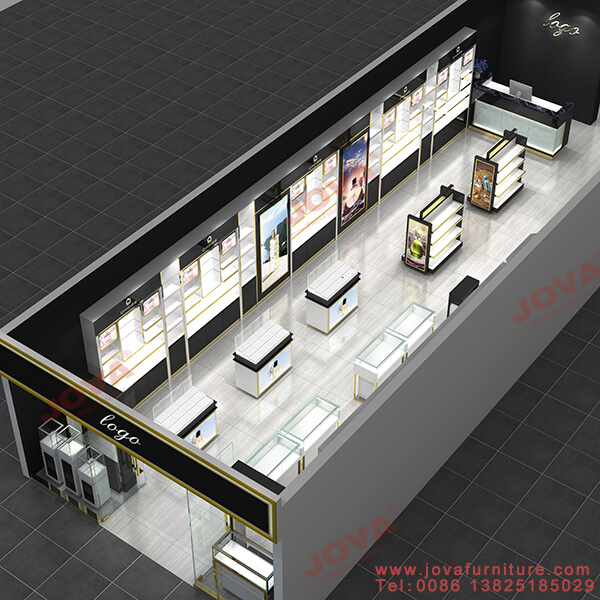 perfume store design and layout
