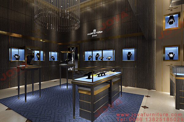 dubai jewelry shop design