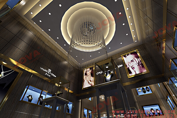 ceiling design for jewellery shop