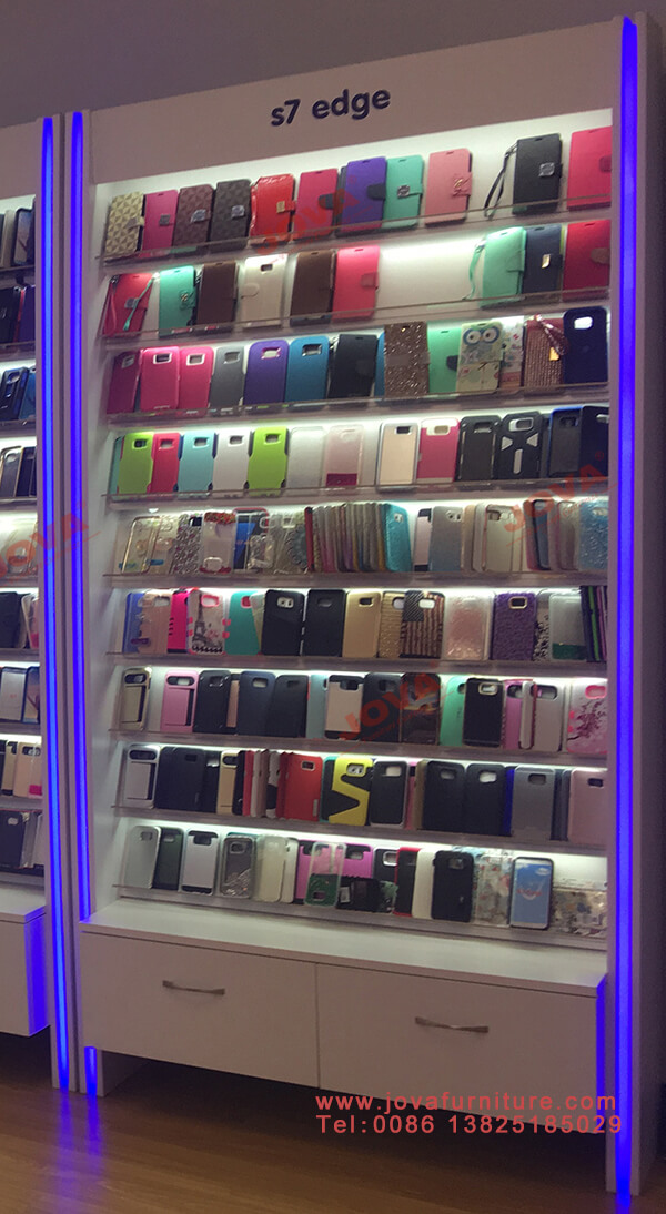 custom cell phone accessory display rack