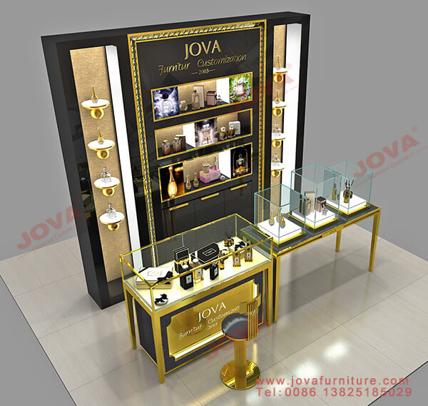 store perfume display cabinet