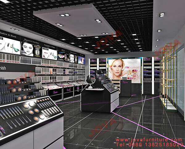 retail cosmetic shop design