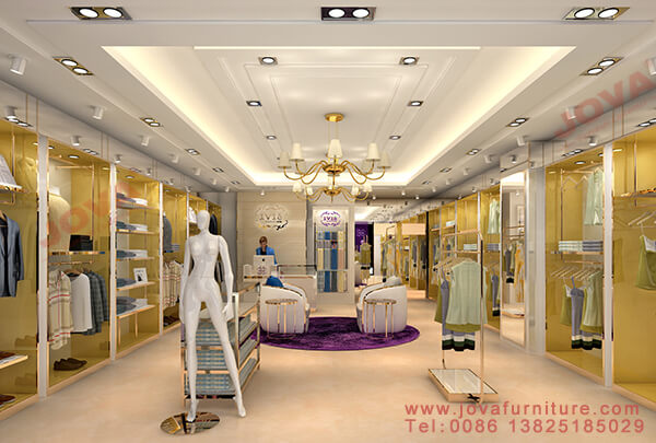 clothes shop furniture design