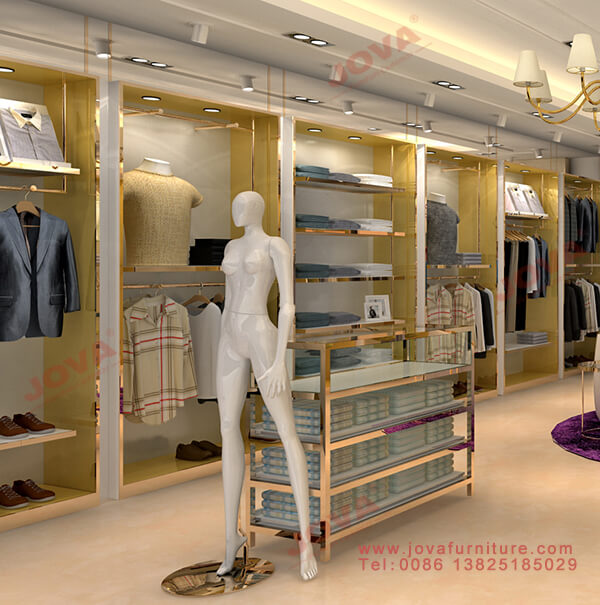 clothes wall displays