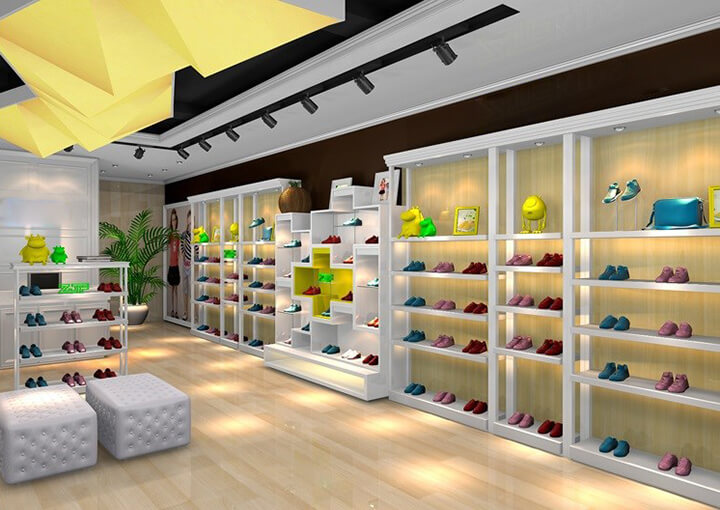 baby shoes shop design