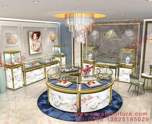 jewelry shop counter designs