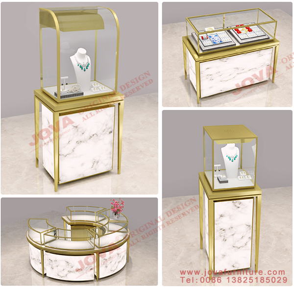 new design jewelry display cabinets