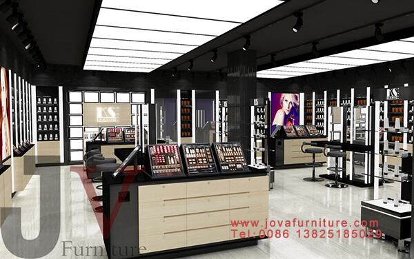 interior design of cosmetics shop