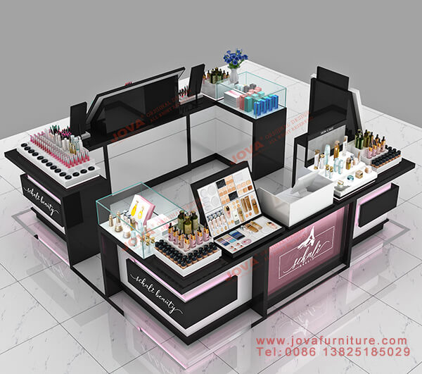 shopping mall cosmetic kiosk