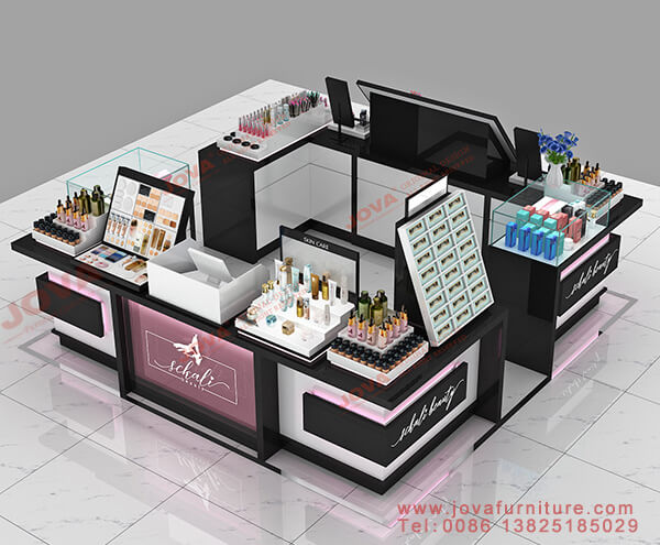 cosmetic kiosk in mall