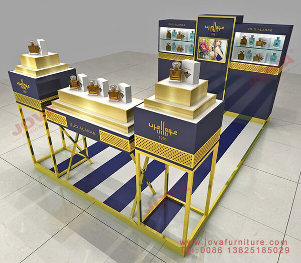 perfume display cases for koisk
