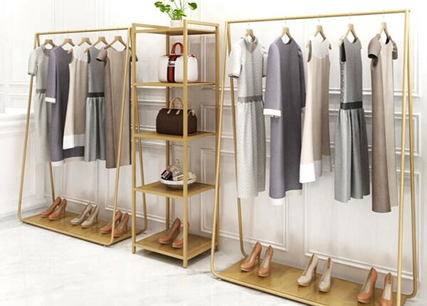 store cloth rack