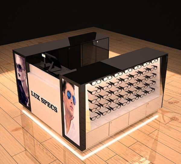 sunglass kiosk display