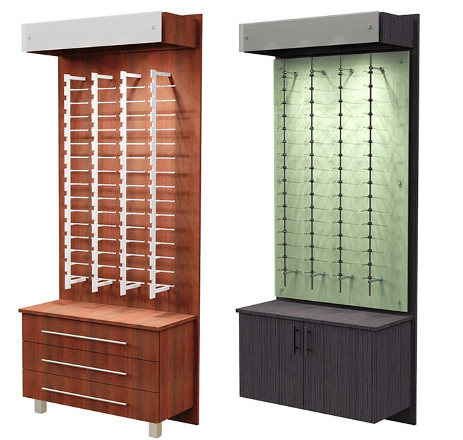 eyeglass display fixtures
