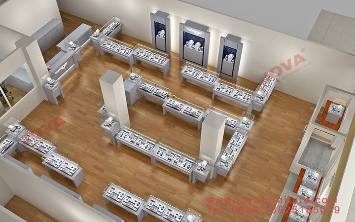 jewelry store layout design
