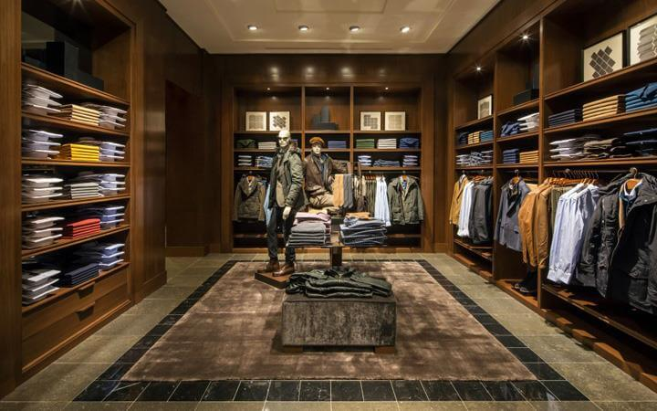 mens wear showroom design