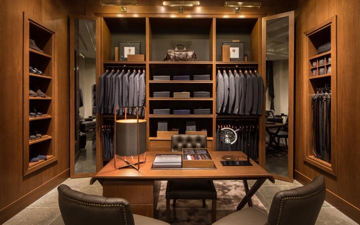mens wear shop display cabinets