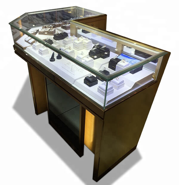 glass corner showcase cabinet