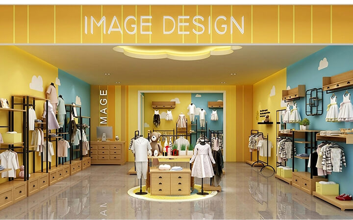 kids garment display ideas