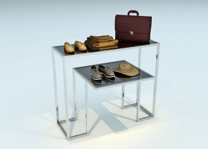 2 tier display table
