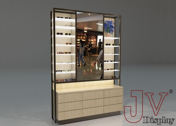 optical shop display cabinets