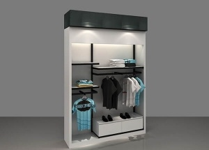 wall display racks for retail stores