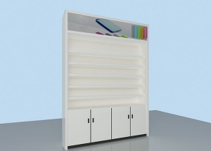 phone display cabinets
