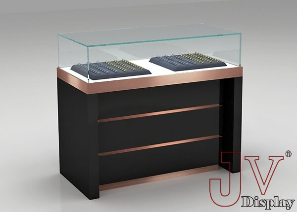 jewelry counter display cases
