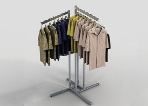 boutique clothing rack