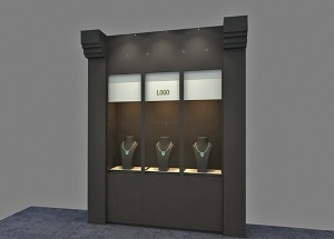 wall design for jewellery shop