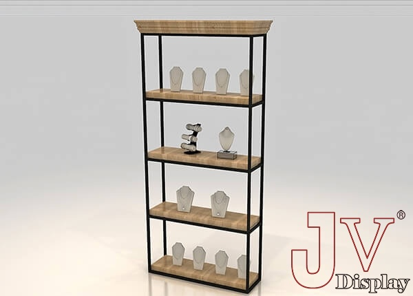 jewelry display shelves