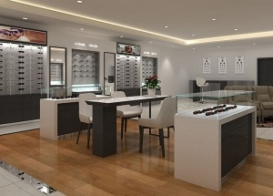 furniture for optical stores