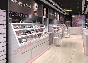 cosmetic retail shop design